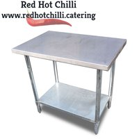 0.9m Stainless Steel Table