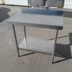 Used Bartlett Stainless Steel Table (9783)