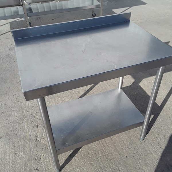 Bartlett Stainless Steel Table (9783)