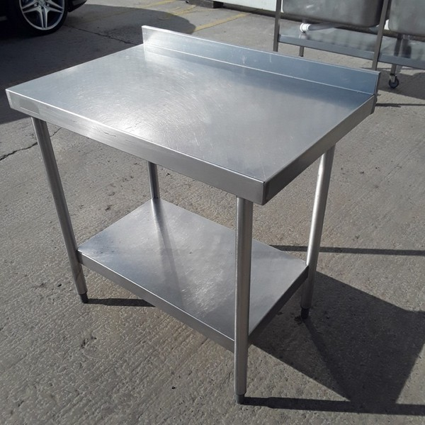 Buy Used Bartlett Stainless Steel Table (9783)