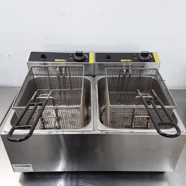 Buffalo L485 Double Table Top Fryer 5L (9780)