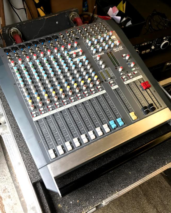 Allen and Heath PA12-CP Powered Mixing Desk