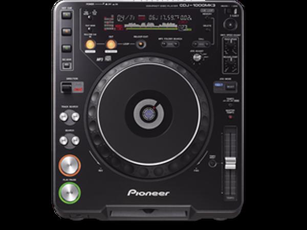 Pioneer CDJ 1000 Mk3 Turntables