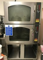 Mono BX Classic Double Commercial Conventional Oven With Stand 3 Phase