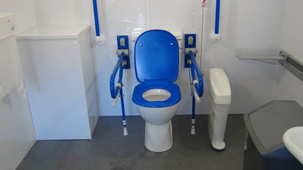 Peninsular  disabled Toilet