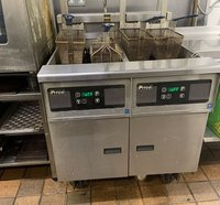 twin tank electric fryer for sale
