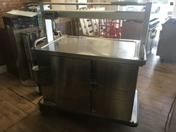 Hot cupboard / Heated Gantry for sale