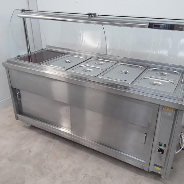 Hot cupboard / serving trolley