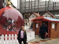 Fabulous bauble - giant prop decoration