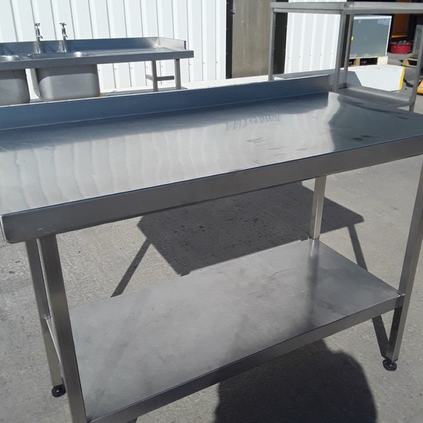 1.2m commercial s/s table