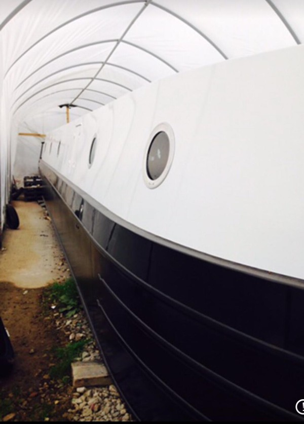60ft x 12ft Widebeam Houseboat