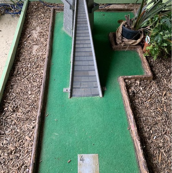 Jungle Mini Golf Course 9 Holes for sale