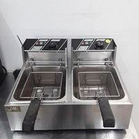 Used Double Table Top Fryer 5L	(9797)