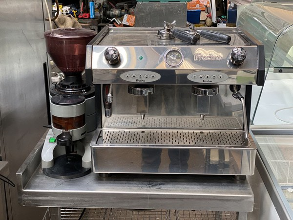 Fracino Bambino 2 Group Coffee Machine and Grinder- Sheffield, South Yorkshire