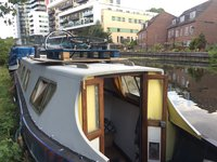 Narrowboat exterior
