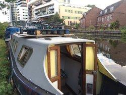 Narrowboat exterior