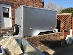 Used Box Trailer twin Axle
