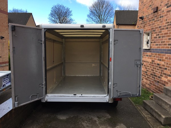 Box Trailer twin Axle