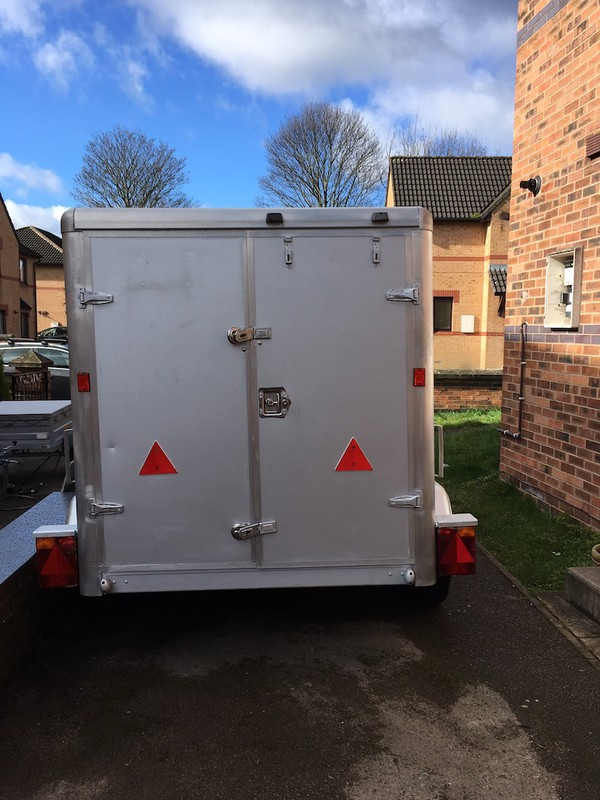 Box Trailer twin Axle for sale