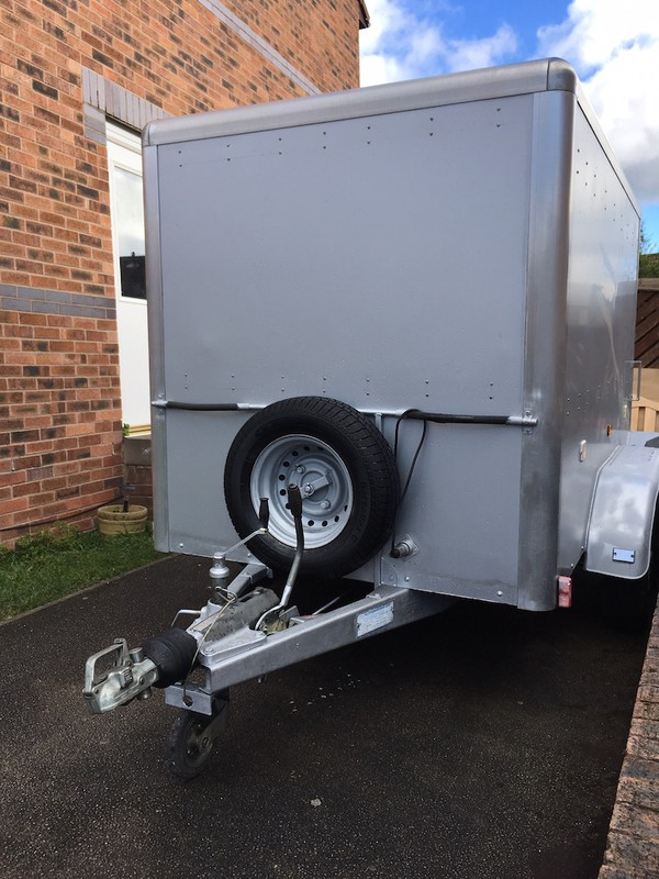 Light Weight Box Trailer twin Axle