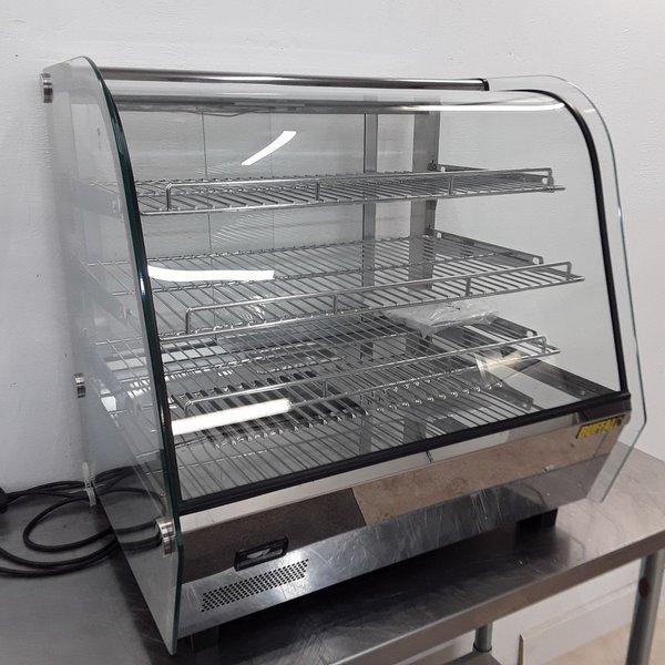 New B Grade Buffalo CD231 Heated Display Pie Warmer