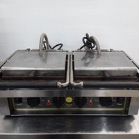Roller Grill Double Contact Panini Grill