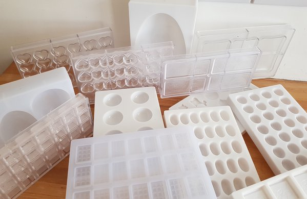 Commercial Chocolate Moulds for sale