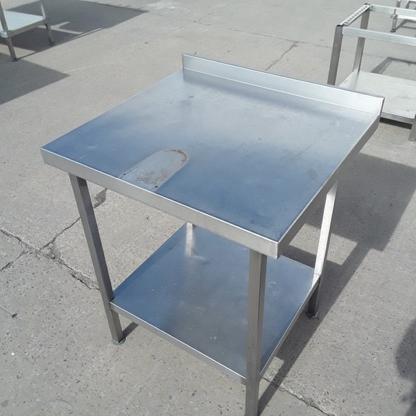 Used Stainless Steel Table (9857)