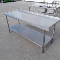 Used Stainless Steel Table (9856)