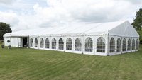 Used 12m x 21m Custom Covers Clearspan Marquee