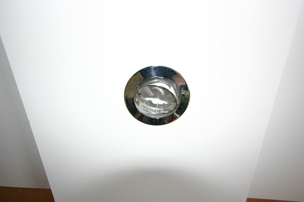 Second Hand Adjustable Downlight Polished Chrome