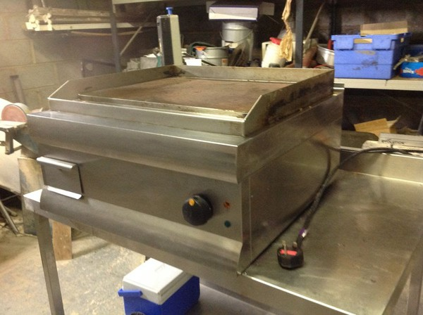 Single Phase Hot Grill Plate Worcester
