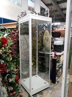 Large Illuminated Glass Display Cabinets Glasgow