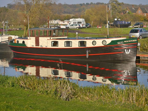 Dutch Barge 55ft x 12ft for sale
