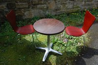 8x Steel Frame Butterfly Chairs - Edinburgh