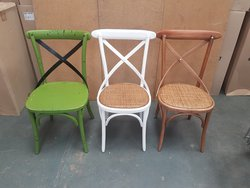 Crossback Wooden Chairs Gunthorpe