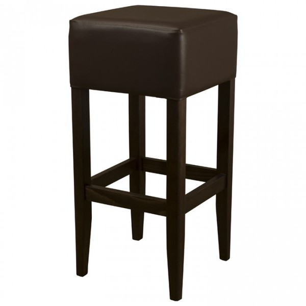 New Tall Leather Bar Stool For Sale