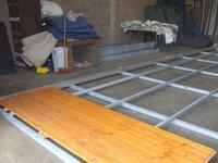 Steel Sub Base Flooring System 9m x 18m