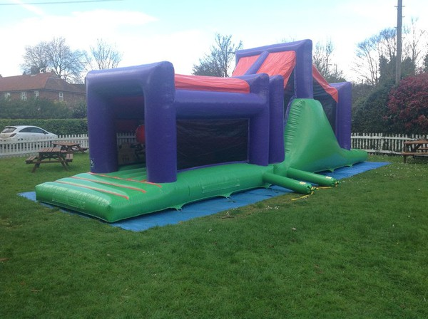 Bouncy Castle Obstacle Course For Sale