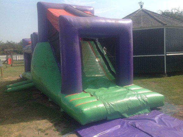 Airquee Bouncy Castle Obstacle Course With 2 Blowers - Colchester, Essex