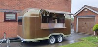 EC Type Approved- UK Road Legal Airstream Catering Trailer Burger Van Pizza Trailer - Middleton, Manchester