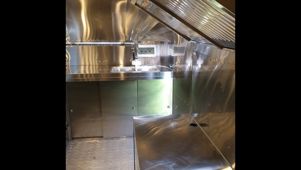EC Type Approval Airstream Catering Trailer