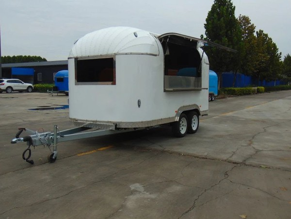 UK Road Legal Airstream Catering Trailer Burger Van Pizza Trailer