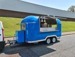 New Type Approved Airstream Catering Trailer Burger Pizza Bar Coffee Van