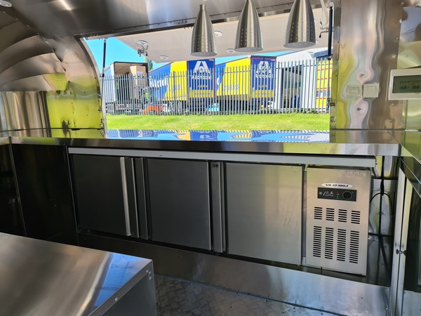 Air stream Catering Trailer