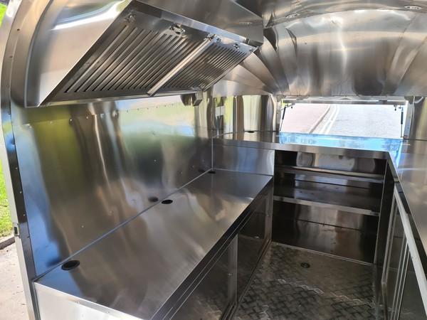 Airstream Catering Trailer Burger Van