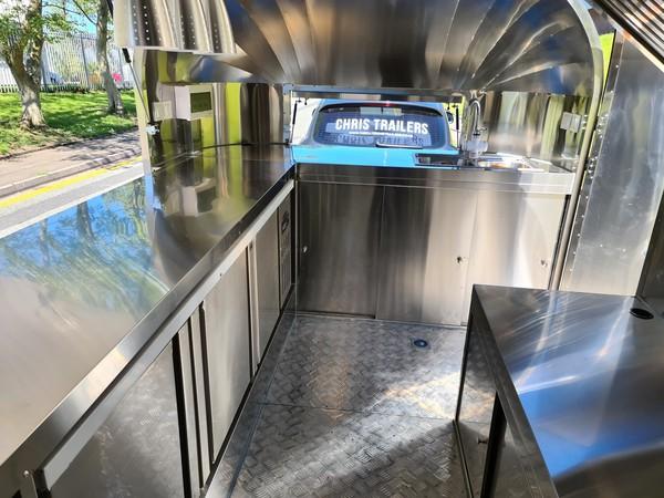 Airstream Catering Trailer Pizza Van