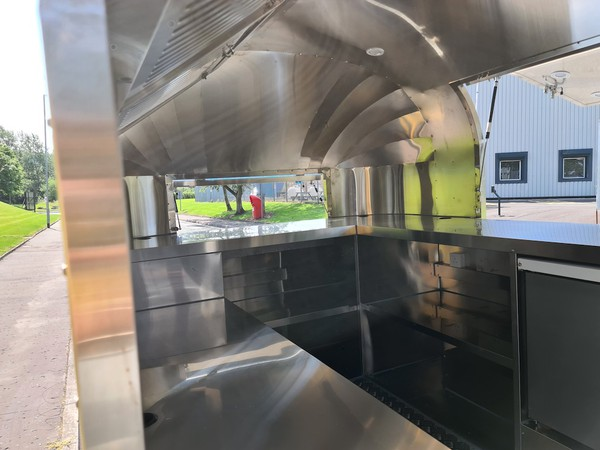 Airstream Catering Trailer Pizza Van