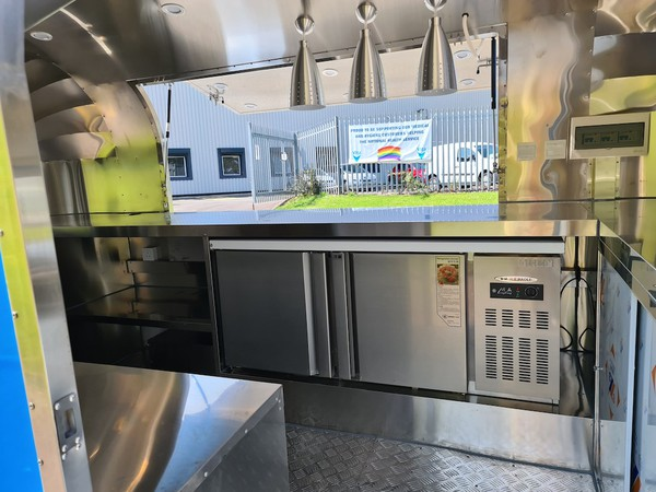 Airstream Catering Trailer with EC Type Approval