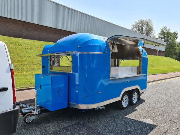 Buy Airstream Catering Trailer with EC Type Approval